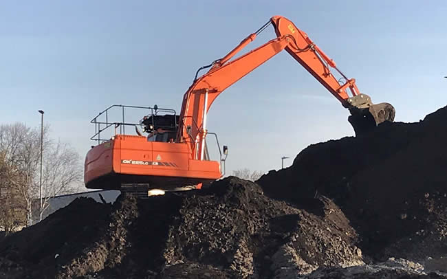 Excavation services Yorkshire